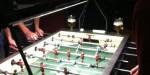 Kickeren! Am Belgischen Tisch klemmts gewaltig...