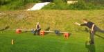 Einzelturnier bei Sonnenschein