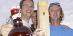 1. Kubb'Ings meets OHC (DE/BE) - zweifache Weltmeister, Titelverteidiger Sure Shot 2013.