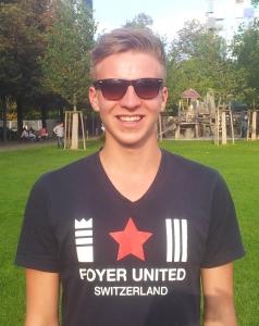 Christoph Fischer am Masters 2014