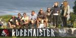 Zunächst bestiegen die Sieger des Klingnauer-Cups das Podest (1. Tigers Wood, 2. Bube Dame König Gras, 3. Kubbsters.