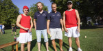und internationalste Kubb-Turnier der Schweiz (Hier die 12-fachen Weltmeister aus Schweden)