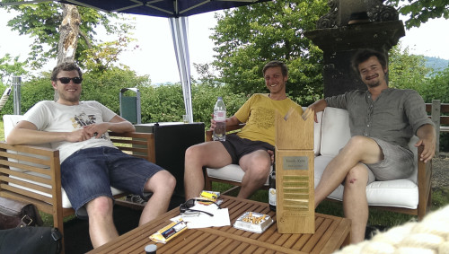 Rope-A-Dope in der VIP-Lounge