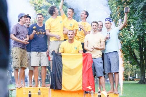 Nach den Kubb'Ings aus Deutschland im letzten Jahr steht erneut ein ausländisches Team zuoberst auf dem Podest.