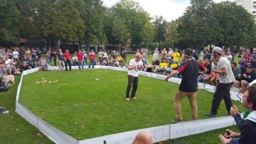 Gipfelstürmer: Die erste Niederlage bereits in der Quali - gegen Wrong Wrabbitz